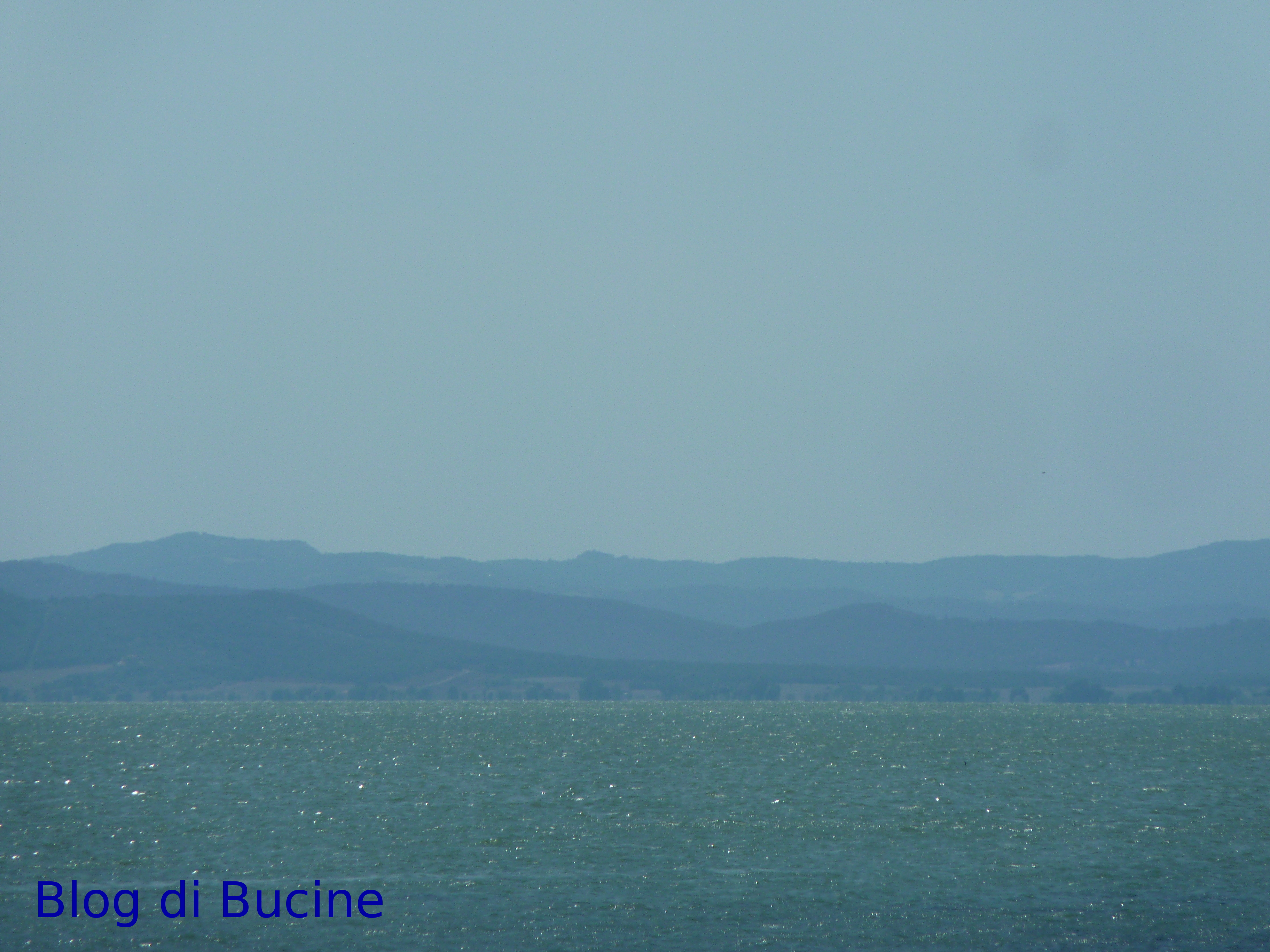 Il lago Trasimeno