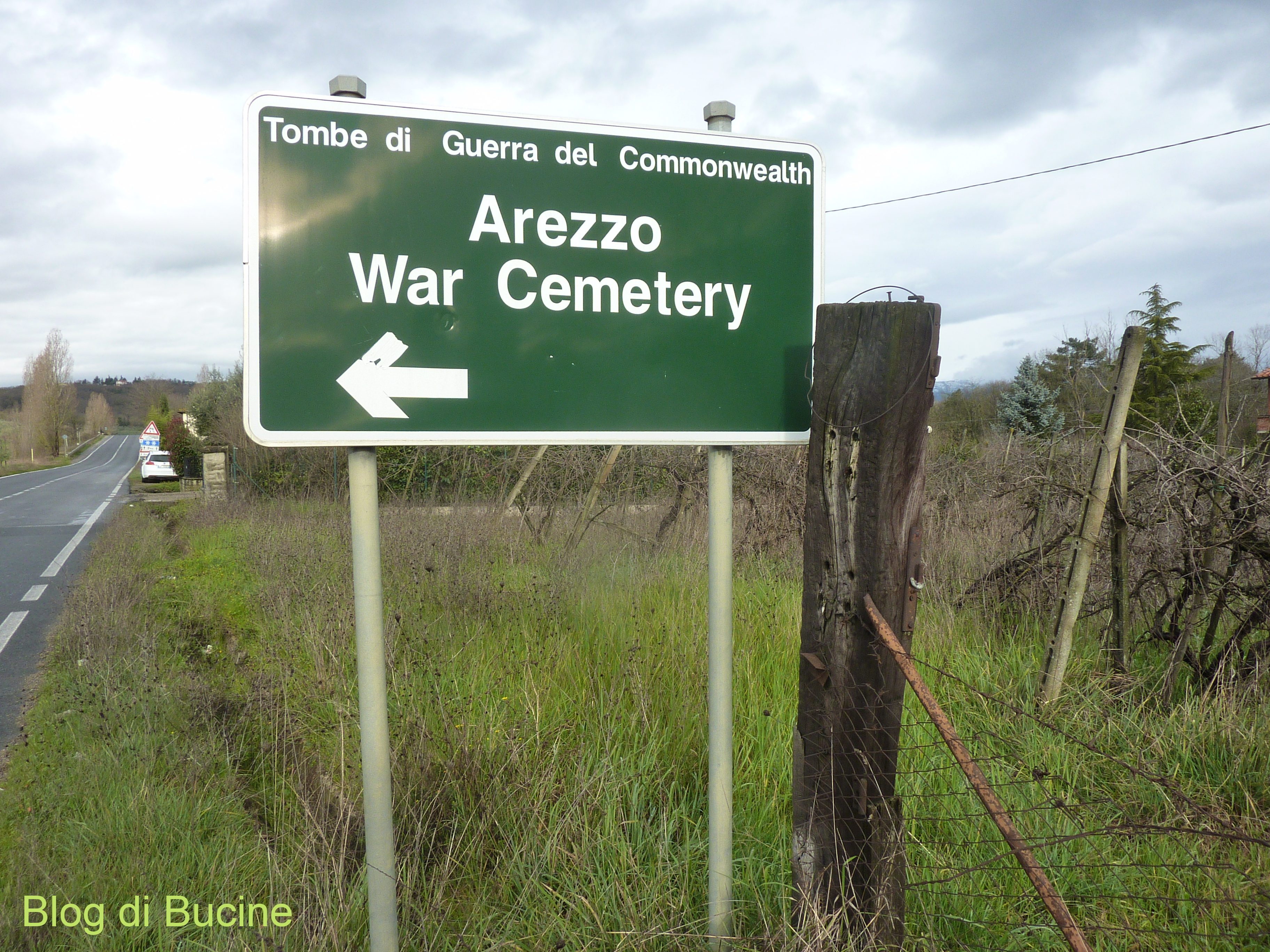A proposito Arezzo War cemetery