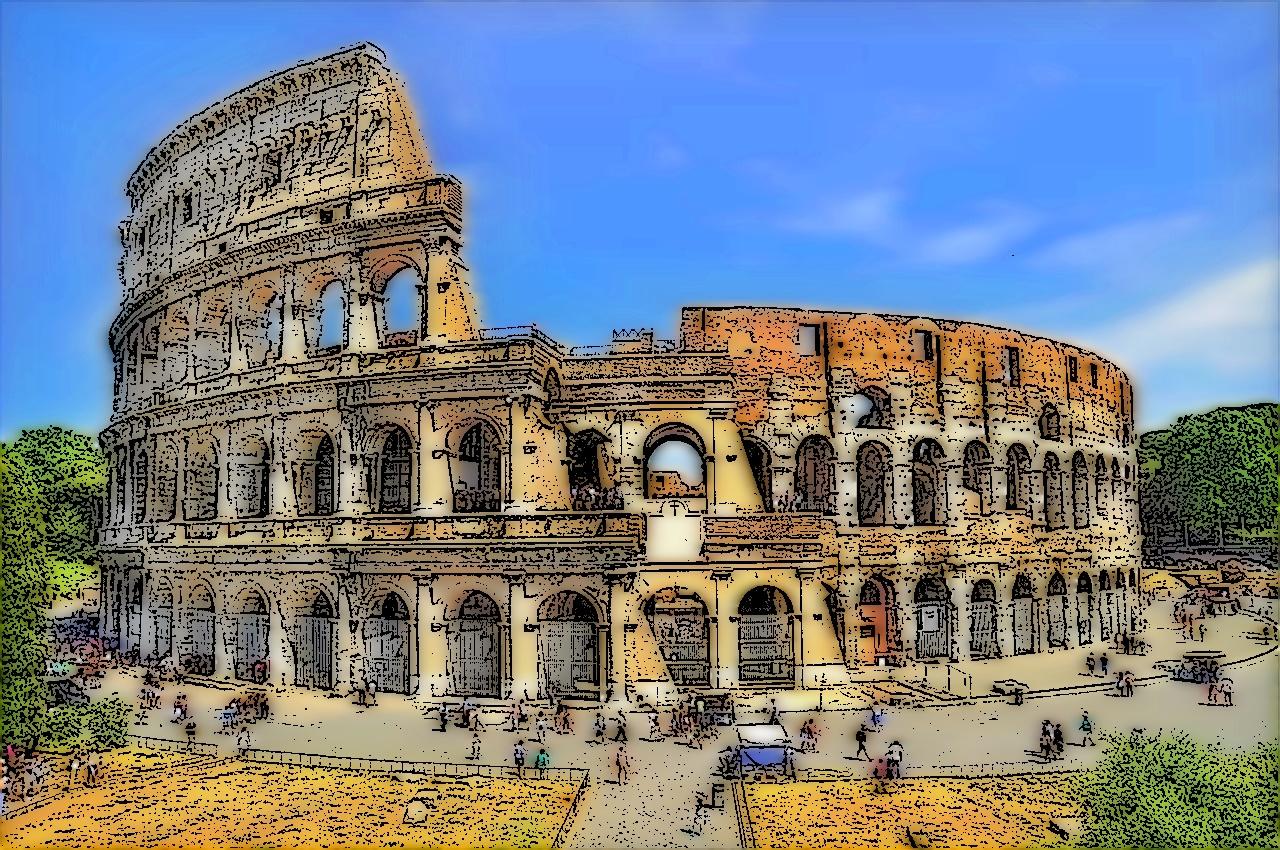 Colosseo-Roma_FotoSketcher3