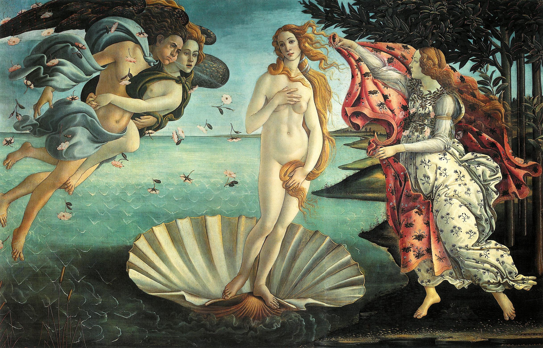 la bellezza la_nascita_di_venere_botticelli