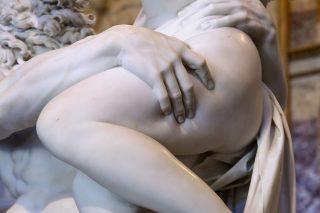 Una scultura