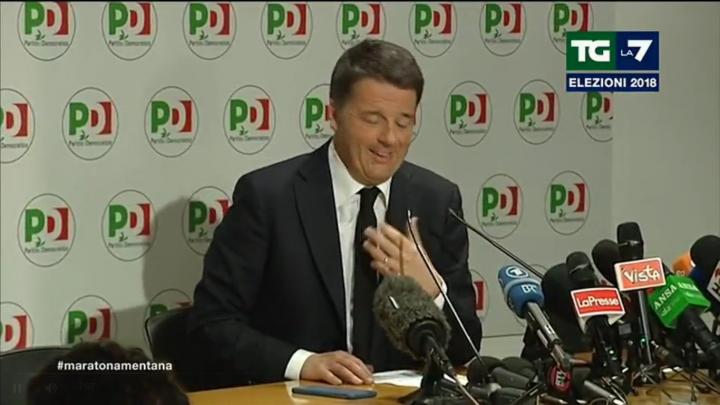 Renzi lascia