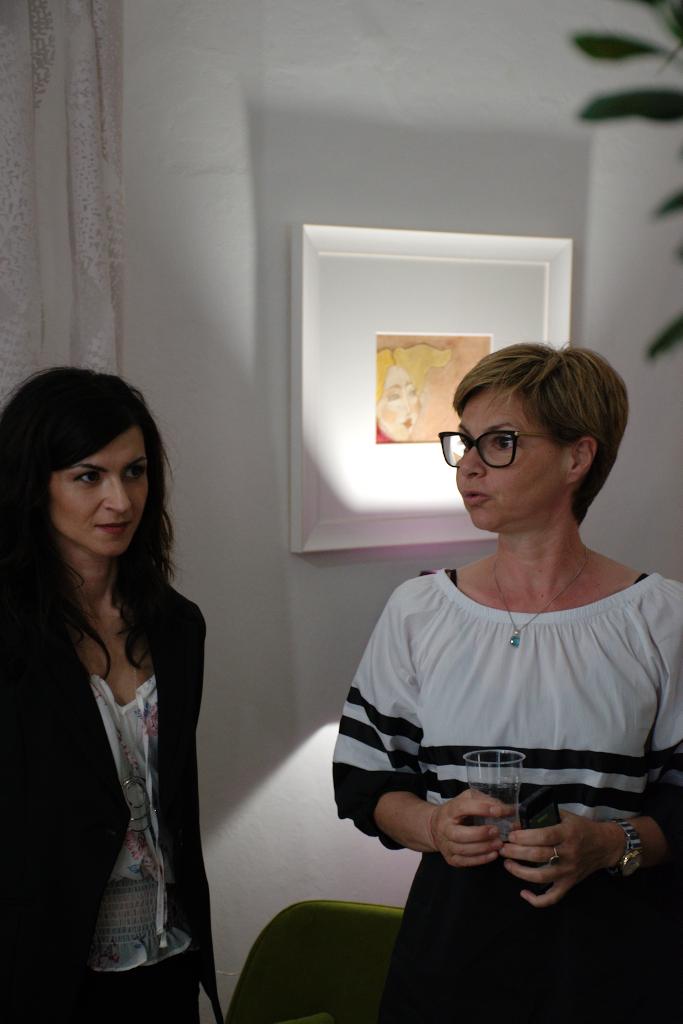 Francesca Lattanzi e Maria Letizia Scarpelli